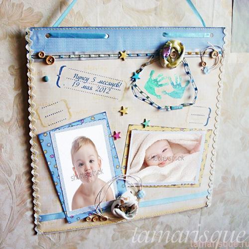 Рамка для фото ребенка