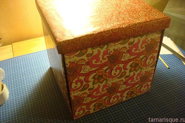 Коробка-раскладушка мастер-класс