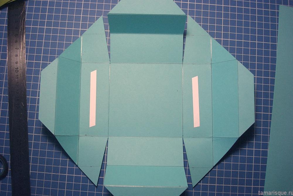Как сделать коробочку из бумаги