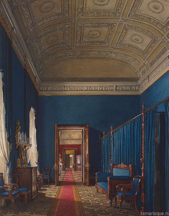 Интерьеры Зимнего дворца. Туалетная комната герцога М. Лихтенбергского.