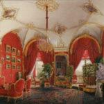 Интерьер Зимнего дворца. Угловая комната.