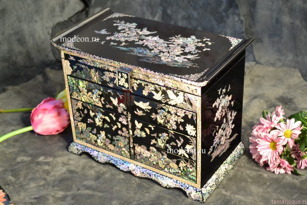 Корейская лаковая миниатюра