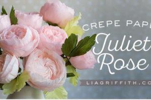 Июльские розы из креповой бумаги