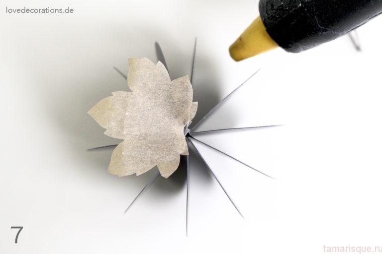 Делаем тыквы из бумаги