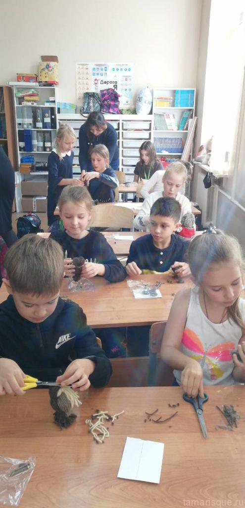 Мастер-класс для школьников
