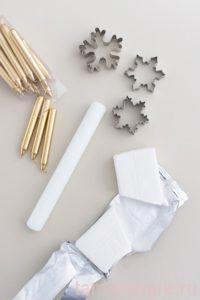 Делаем подсвечники из полимерной глины